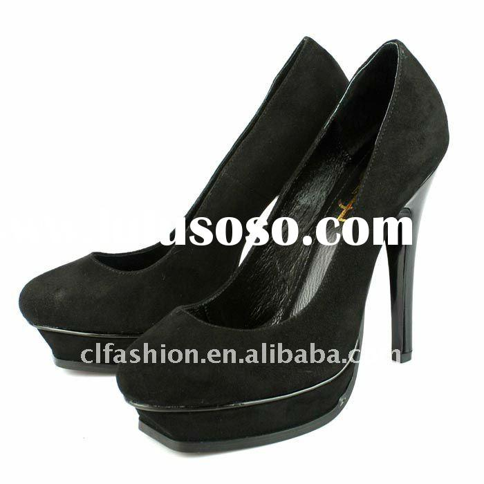 Latest Fashion Lady ,High heel shoes, genuine leather shoes ,drop shipping