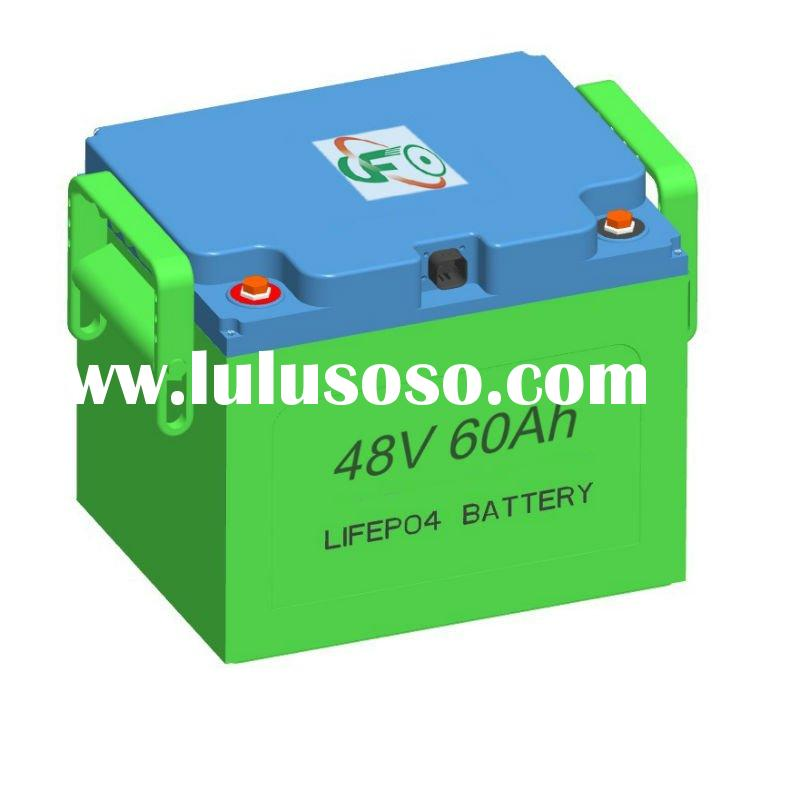 LiFePO4 48v 60Ah Battery Pack for automotive car, Motorcycles, electric scooter