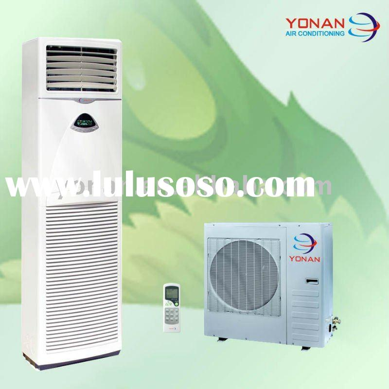 Low noise floor standing air conditioner, floor standing ac