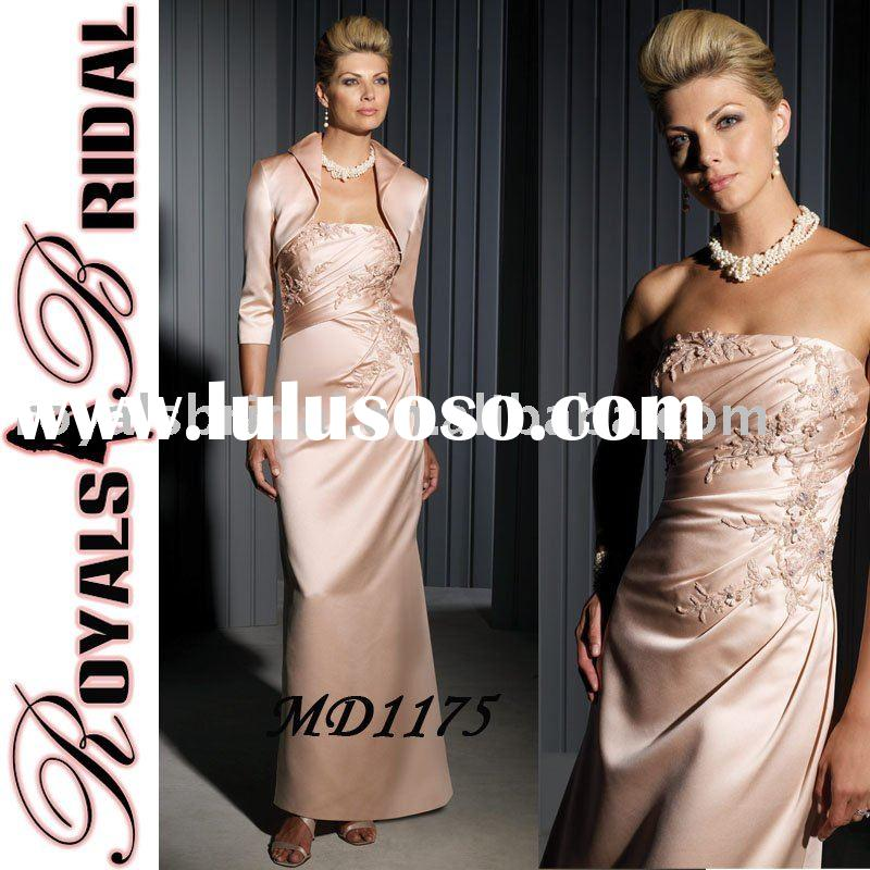 MD1175 2011 New Style Mother of Bride Dress