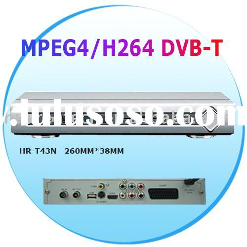 MPEG4/H264 HD DVB-T cable tv set top box