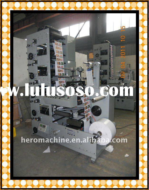 Make Money Automatic price label machine(adhesive label printing machine,flexography printing machin