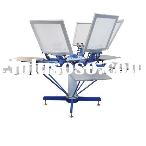 Manual textile screen printing machine,t-shirt printing machine,garment printer