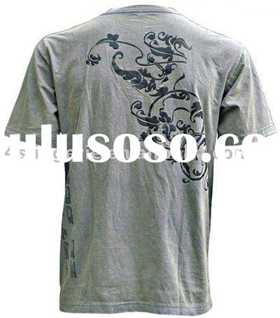 Men's tee,T-shirts,heat transfer print clothing