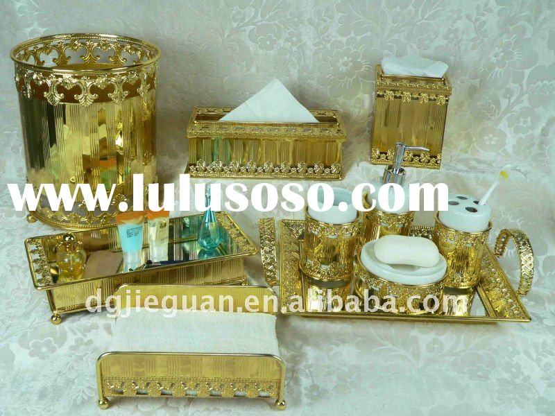 Gold Plated Bathroom Accessories Gold Plated Bathroom Accessories Manufacturers In