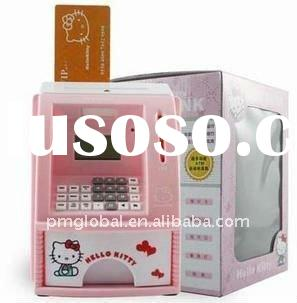 Mini ATM,ATM Money Bank,Saving Money Bank with Lock