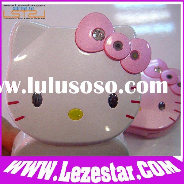 Mini Cartoon Cell Phone K668 Hello Kitty