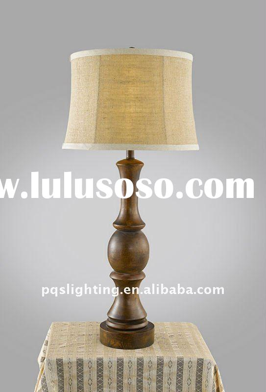 Modern Decoration Wooden Table Lamp