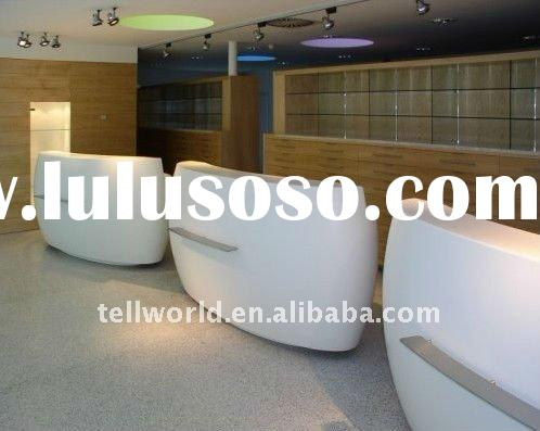 Modern Design Solid Surface Reception counter/desk