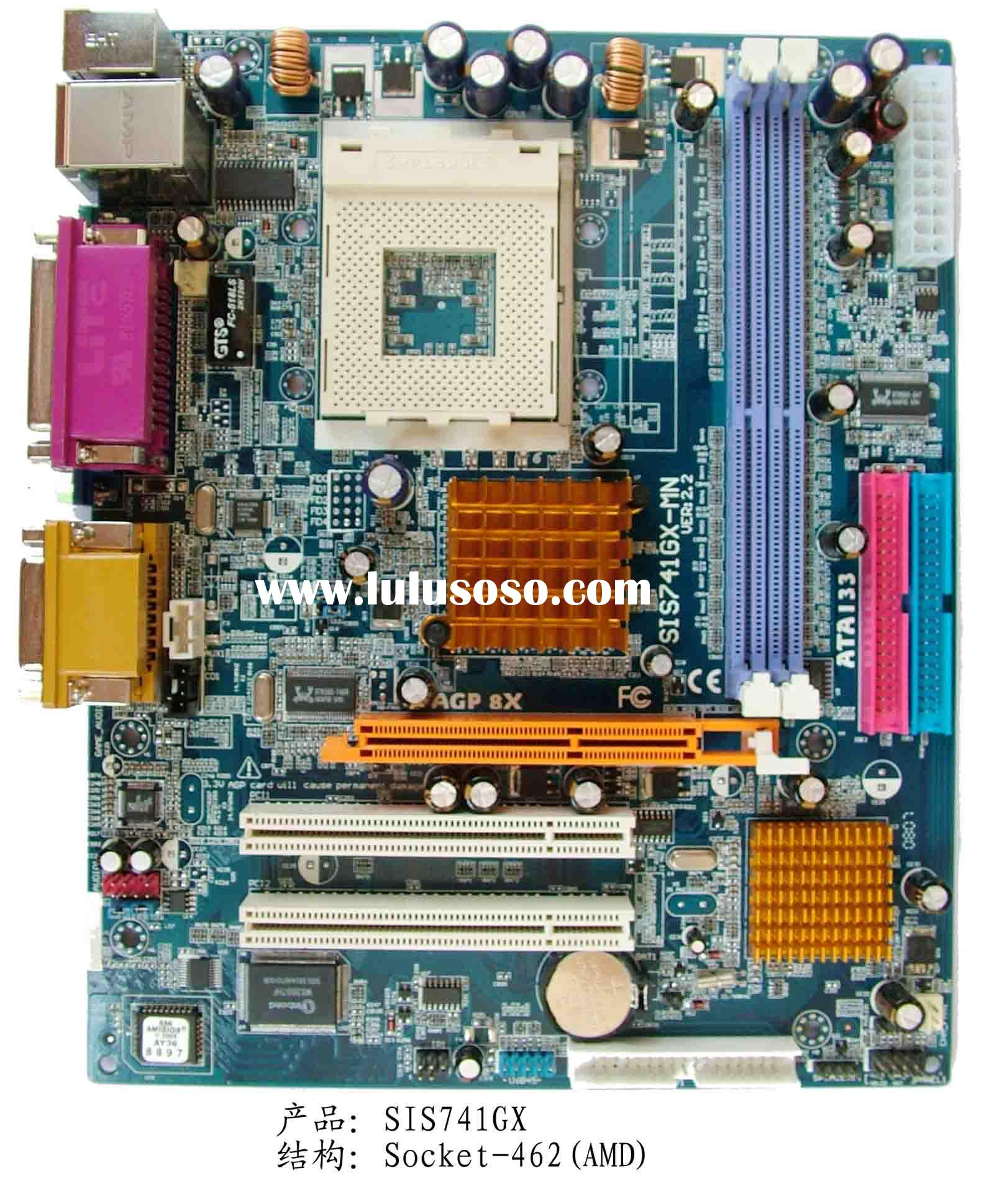 Motherboard SIS 741GX Socket A(462) for AMD processor