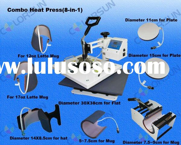 Multifunctional Heat Press Machine (Sublimation Machine, Heat Press Transfer Machine)