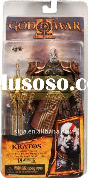 NECA GOD OF WAR 2 II KRATOS IN ARES ARMOR ACTION FIGURE 7""