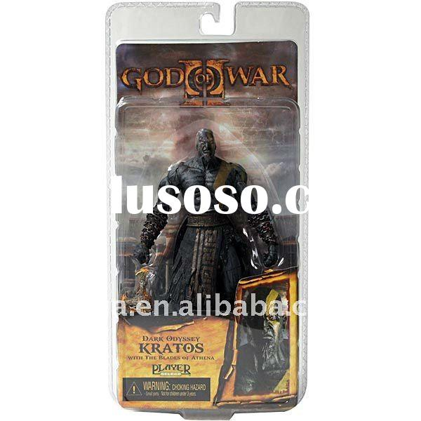 NECA GOD OF WAR II 2 KRATOS DARK ODYSSEY BLADES OF ATHENA 7""