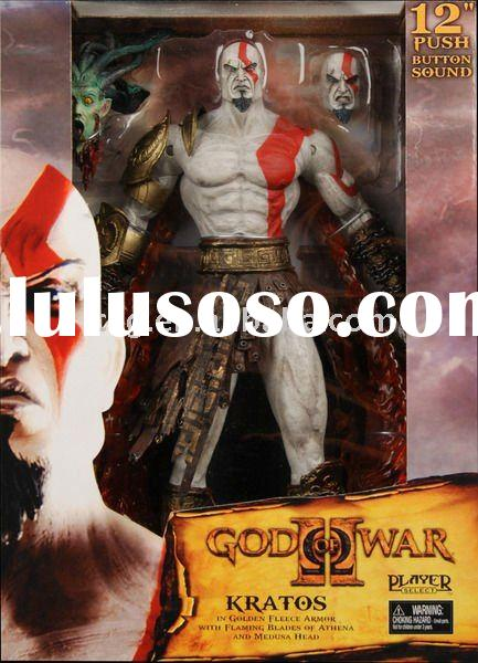 NECA God of War 2 Kratos 12inch with sound Game Action Figure