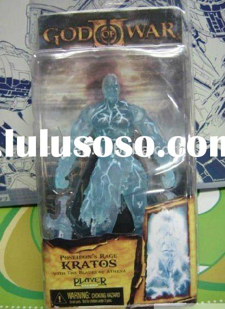 NECA God of War 2 Kratos Transparent Game Action Figure