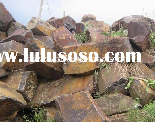 Natural Basalt Blocks / Basalt Stone Quarry