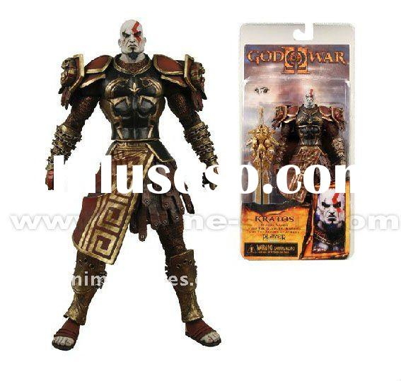 Neca God of War II Kratos in Ares Armor w/ Blades Action Figure 7''(AS030713)