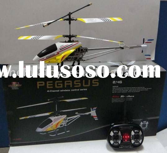 New 4CH helicopter radio control with Gyro and camera
