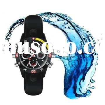 New Generation 720P HD Waterproof Watch Camera/Motion Detection Clock Recorder