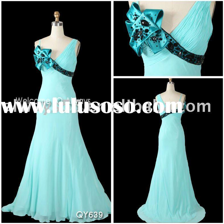 New style evening dress for muslim qy639