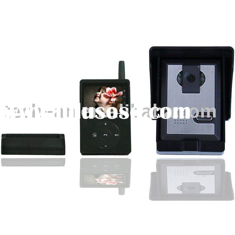 Newest 2.4G digital video intercom system from manufacturer