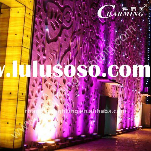 Night club decorating Fantasy high power square LED wall washer