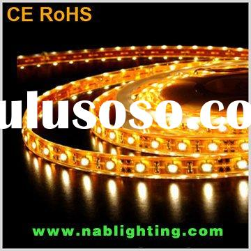 Non-waterproof Flexible LED light Strip with 3M adhesive tape on the back