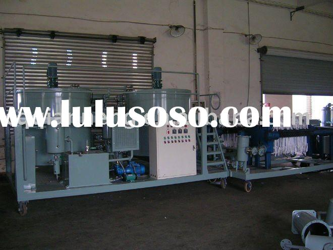 ORS used truck oil filtering machine/oil purifier/oil recycling machine