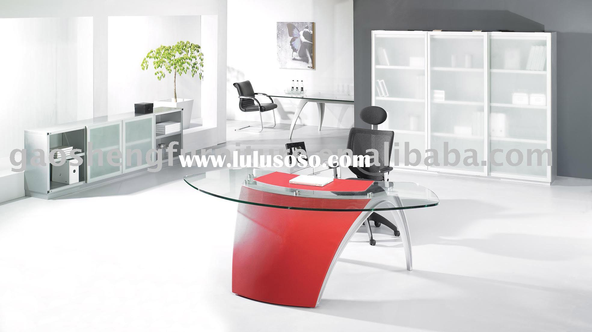 Office Furniture Office Desk Glass Desk Office Table GS-TJ018A1