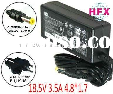 Original Laptop Notebook Charger Power Supply for HP 18.5V 3.5A 65W,4.8*1.7,Yellow Tip