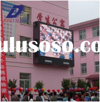 Outdoor TV led display to show text ,vivid pictures