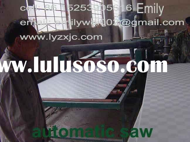 PVC gypsum ceiling tile machine