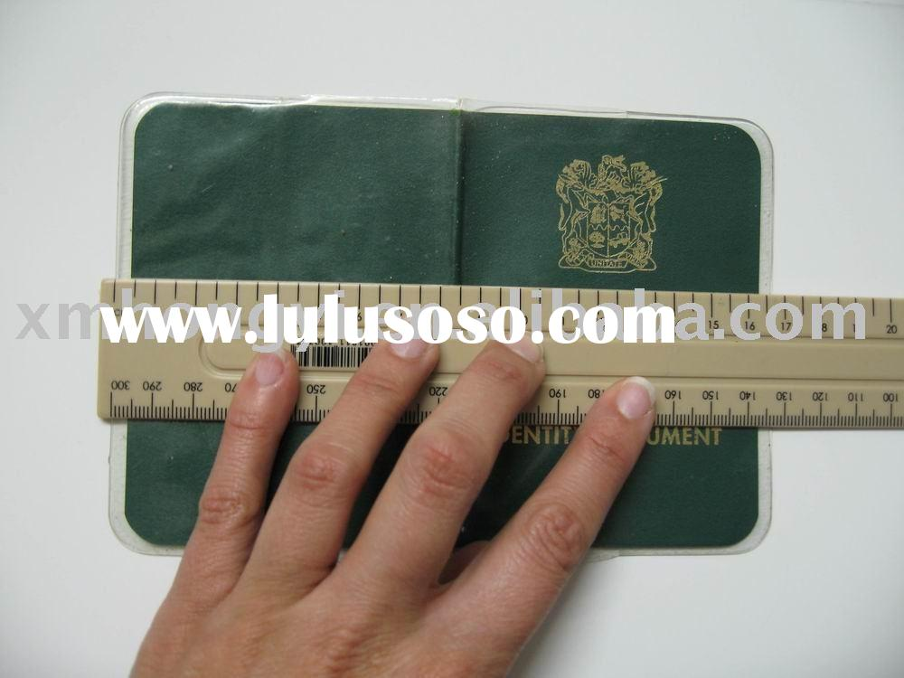 PVC passport cover .pvc credit card holder ,plastic credit card pocket ,passport cover