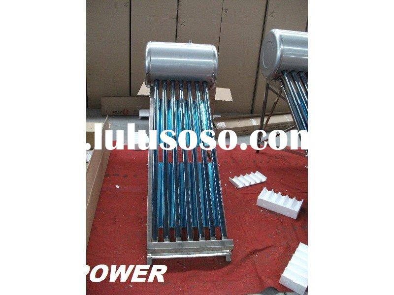 Passive solar water heater 7-tube