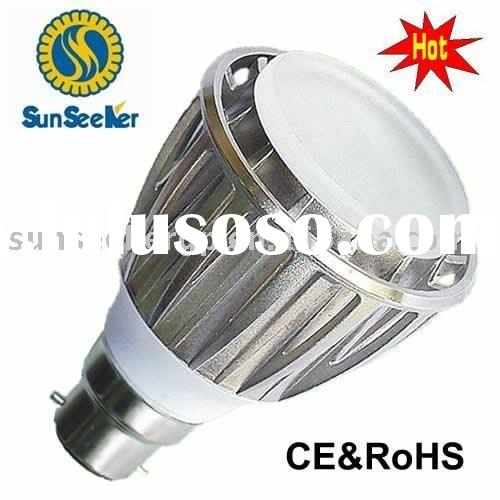Perfect heat-sink High Intensity 5W LED Bulb B22