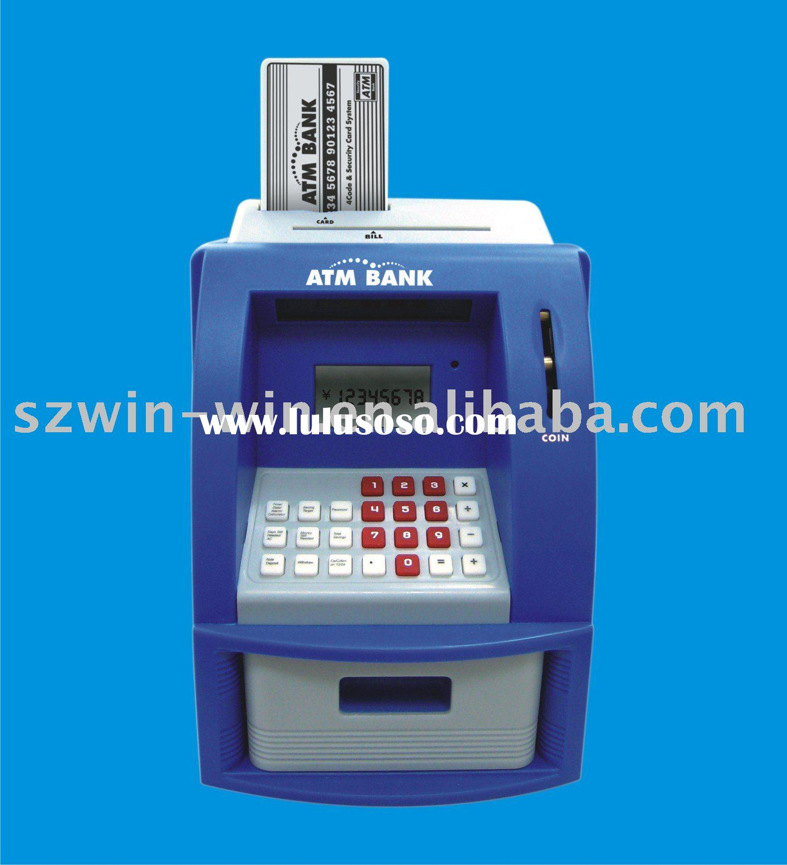 Personal Toy ATM Machine/ATM BANK