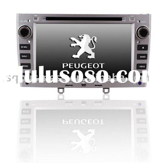 Peugeot 308 car dvd GPS with CANBUS, buletooth, RDS, V-CDC, steer wheel control.. functions