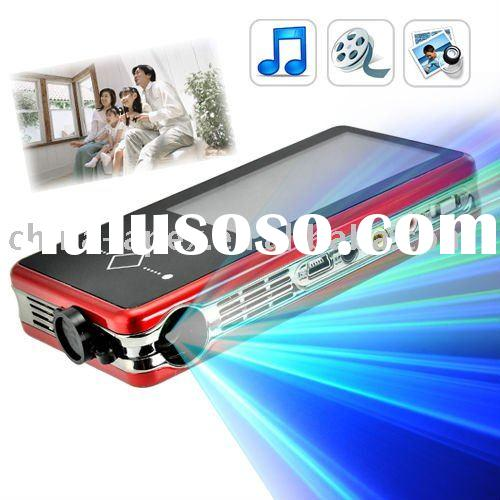 Portable Mini Projector PMP MP4 Player mp5 player 2GB