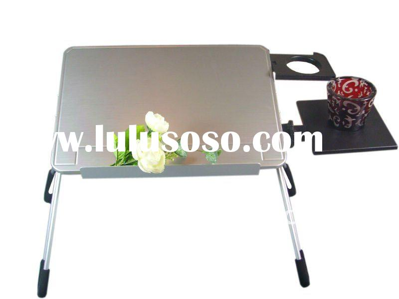 Pure Aluminum folding laptop table for sale 2011
