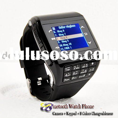 Q8 cell phone dual sim watch mobile phone,1GB&mono Bluetooth headset