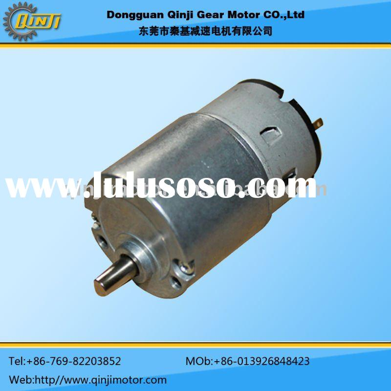 QINJI-33GB-500 DC Geared Motor used for towel dispenser,4.5v small electric gear motor for toys
