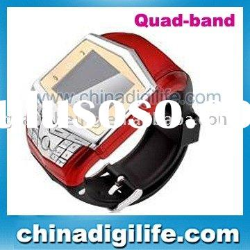 Quadband watch mobile phone/watch cellphone/watch cell phone GD910 ,1.55 Screen bluetooth ,camera ,M