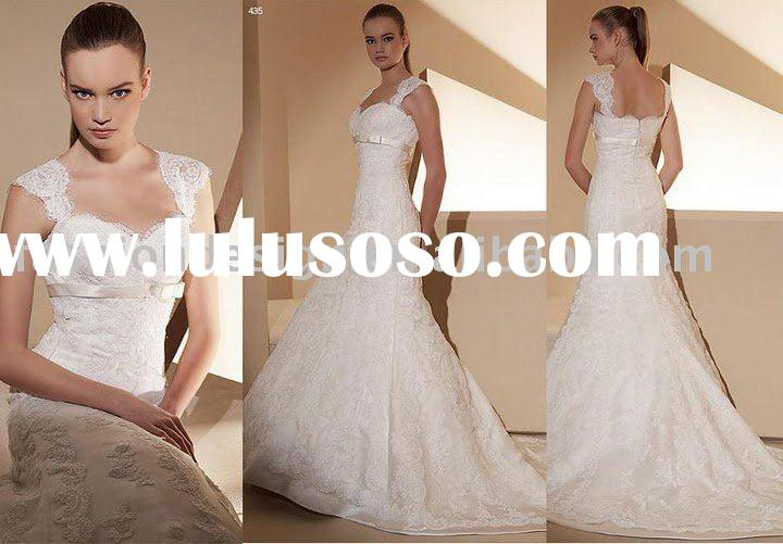 RH251 Stylish fashion lace European style bridal gowns wedding dress