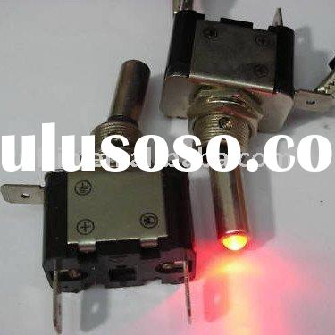 Red Car/Boat Light led 12V Toggle ON/OFF Switch