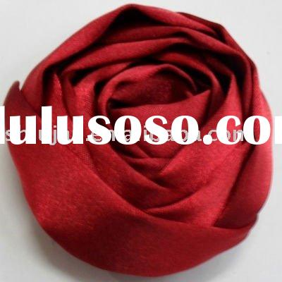 Red Rose Fabric Flower(silk cloth)