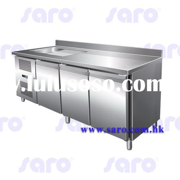 Refrigerated Counter with Sink, AG316