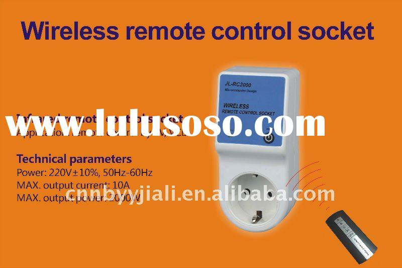 Remote control socket design for home appliance wireless remote control for TV computer VCD FAN refr