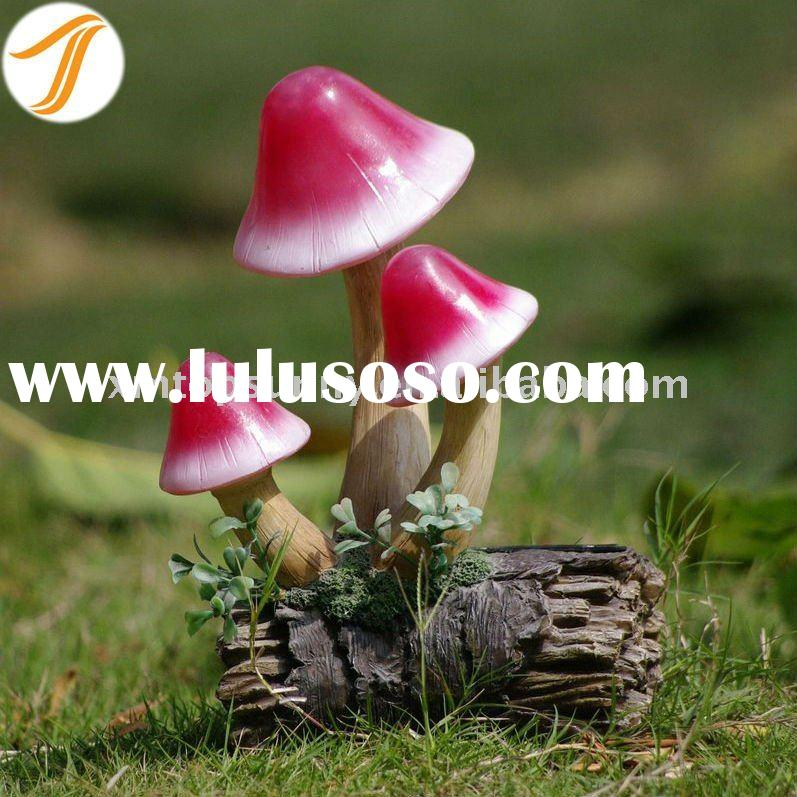 Resin Solar Mushroom Garden Lights LED