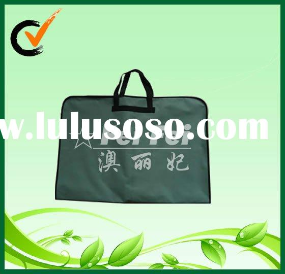 Reuseable PP non-woven garment carrier cloths packing bags