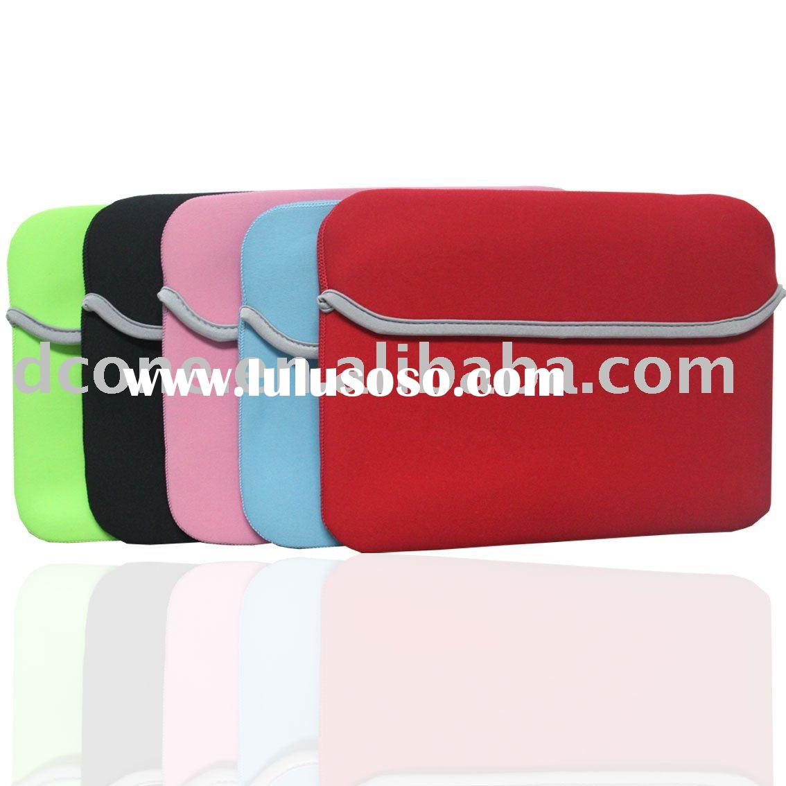Reversible neoprene sleeve notebook bag neoprene laptop sleeve for Lenovo Thinkpad X200 IBM )